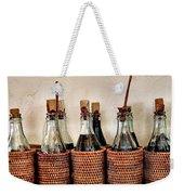 Bottles In Baskets Weekender Tote Bag