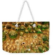 Bottles In The Wall Weekender Tote Bag