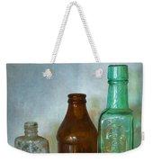 Bottles Weekender Tote Bag