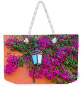 Bougainvillea And Lamp, Mexico Weekender Tote Bag