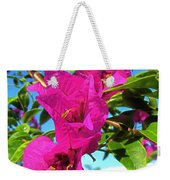 Bougainvillea Beauty Weekender Tote Bag