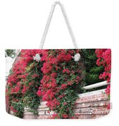 Bougainvillea Wall In San Francisco Weekender Tote Bag