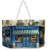 Boulangerie De Montmartre Weekender Tote Bag