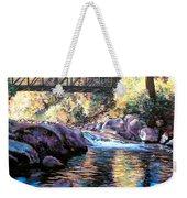 Boulder Creek Bridge Weekender Tote Bag