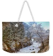 Boulder Creek Winter Wonderland Weekender Tote Bag