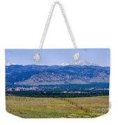 Boulder In The Summertime Weekender Tote Bag