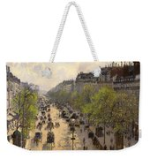 Boulevard Montmarte Weekender Tote Bag