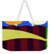 Bouncy Sunshine Weekender Tote Bag by Patrick J Murphy