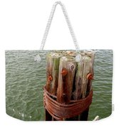 Bound And Bolted Weekender Tote Bag