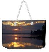 Boundary Waters Sunrise Weekender Tote Bag