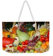 Bountiful Harvest Weekender Tote Bag