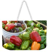 Bountiful Peppers Weekender Tote Bag