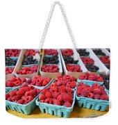 Bounty Of Berries Weekender Tote Bag by Caitlyn  Grasso