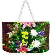 Bouquet Bounty Weekender Tote Bag