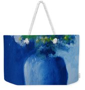 Bouquet In Blue Shadow Weekender Tote Bag