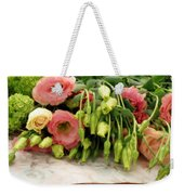 Bouquet In The Making Weekender Tote Bag by Lainie Wrightson
