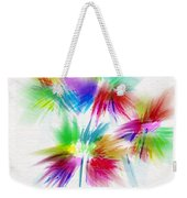 Bouquet In The Sun Abstract Weekender Tote Bag