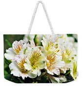 Bouquet Of Alstroemeria Weekender Tote Bag