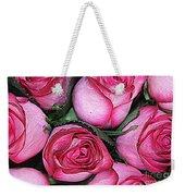 Bouquet Of Pink Roses Weekender Tote Bag