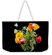 Bouquet Of Ranunculus Weekender Tote Bag