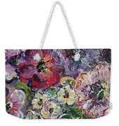 Bouquet Of Sweetness Weekender Tote Bag
