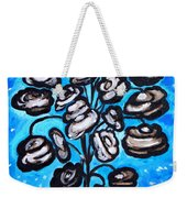 Bouquet Of White Poppies Weekender Tote Bag
