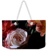 Bouquet With Rose Weekender Tote Bag