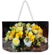 Bouquet With Roses And Calla Lilies Weekender Tote Bag