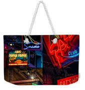 Bourbon St. Neon - Nola Weekender Tote Bag