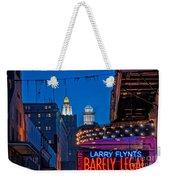 Bourbon Street And Cbd Lights  Weekender Tote Bag