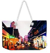 Bourbon Street Early Evening Weekender Tote Bag
