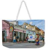 Bourbon Street - Let The Party Begin Weekender Tote Bag
