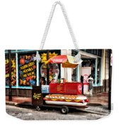 Bourbon Street Lucky Dog Weekender Tote Bag by Bill Cannon