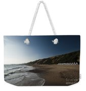 Bournemouth Beach Huts Weekender Tote Bag