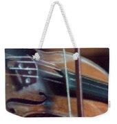 Bow And Strings Weekender Tote Bag
