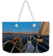 Bow And The Needle Weekender Tote Bag