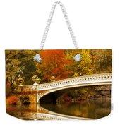 Bow Bridge Beauty Weekender Tote Bag