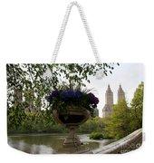 Bow Bridge Flowerpot And San Remo Nyc Weekender Tote Bag