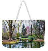 Bow Bridge - Grounds For Schulpture Weekender Tote Bag