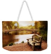 Bow Bridge Nostalgia 2 Weekender Tote Bag