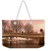 Bow Bridge Panorama Weekender Tote Bag