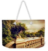 Bow Bridge View Weekender Tote Bag