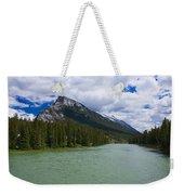 Bow River - Banff Weekender Tote Bag