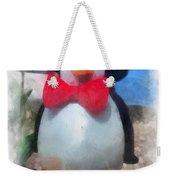 Bow Tie Penguin Photo Art Weekender Tote Bag