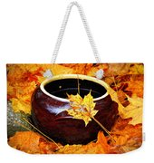 Bowl And Leaves Weekender Tote Bag