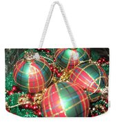 Bowl Of Christmas Colors Weekender Tote Bag