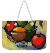 Bowl Of Fruit 5 Weekender Tote Bag