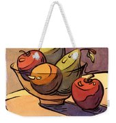 Bowl Of Fruit 8 Weekender Tote Bag
