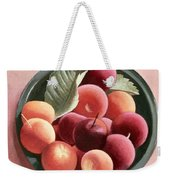 Bowl Of Fruit Weekender Tote Bag by Tomar Levine