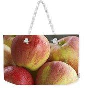 Bowl Of Royal Gala Apples Weekender Tote Bag